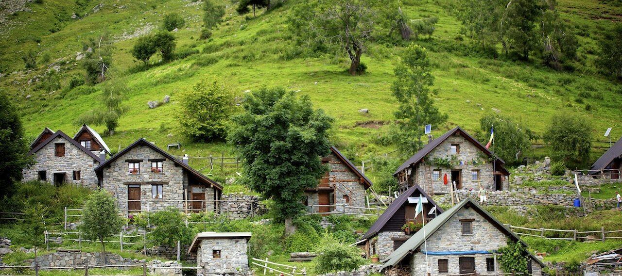 Villaggio nel verde